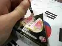 Kimbap -- In Convenient Triangle Shape