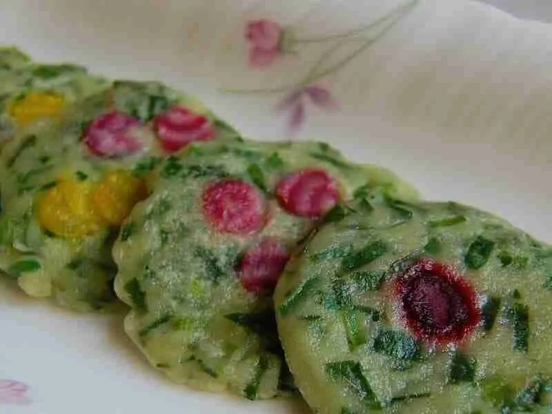 Garlic Chive Pancakes