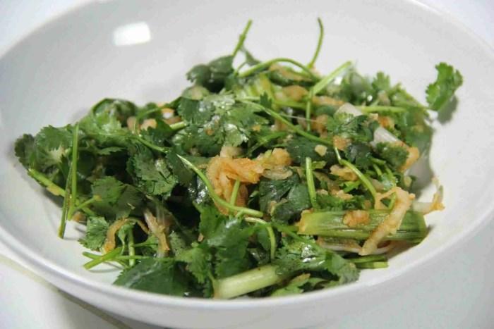 Cilantro Kimchi