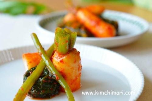 Young Radish Kimchi (Chong Gak Kimchi)