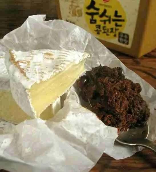 Recette de Pâtes à la sauce camembert-doenjang