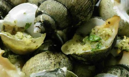 Korean Kitchen Hacking:: Escargot with Korean Sea Snails