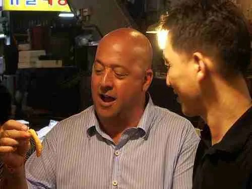Bizarre Foods with Andrew Zimmern: South Korea