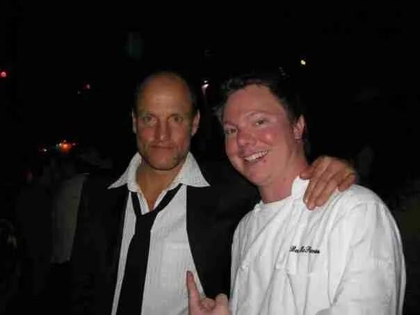 "Vintage Post: Chef Ben Cooks ""Zombieland"" Movie Wrap Party"