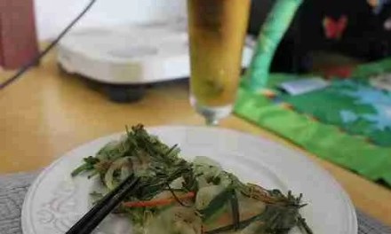 Crispy Pajeon, Rainy Day Food