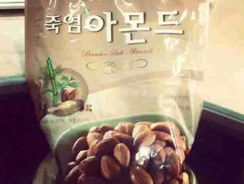 Bamboo Salt Almonds