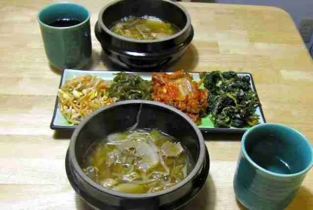 Korean food made in the USA