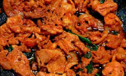 Dwaeji Bulgogi (Grilled Korean Spicy Pork)
