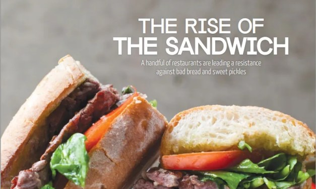 The Rise of the Sandwich… and Ghosts?