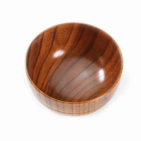 Handmade Jujube Wood Rice Bowl