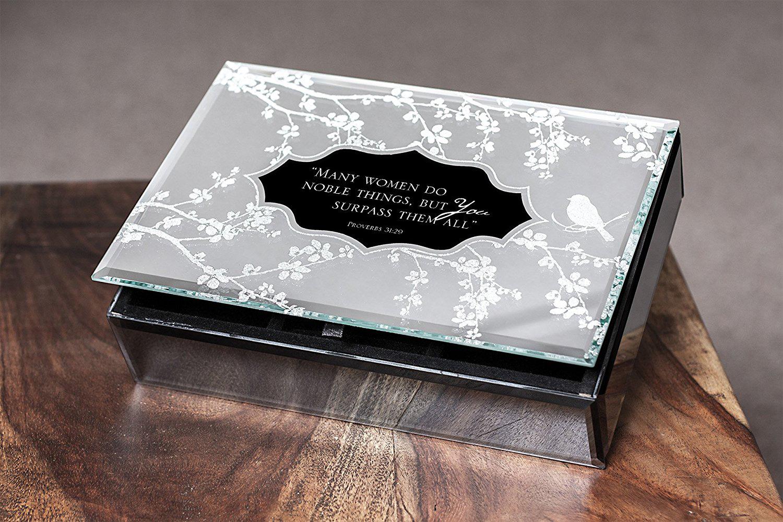 25 beautiful mirrored jewelry boxes