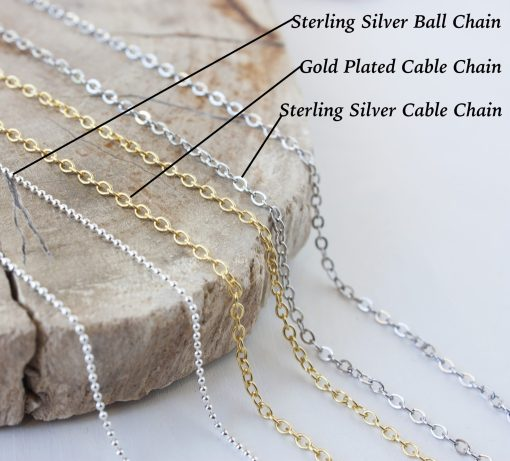 Necklace chain options