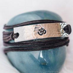 OM Mangala wrap bracelet