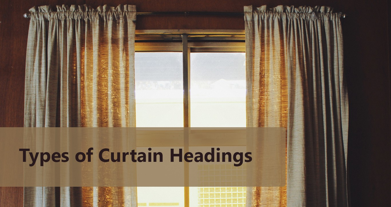 7 Most Popular Types Of Curtain Headings Infographic Zenn Interiors