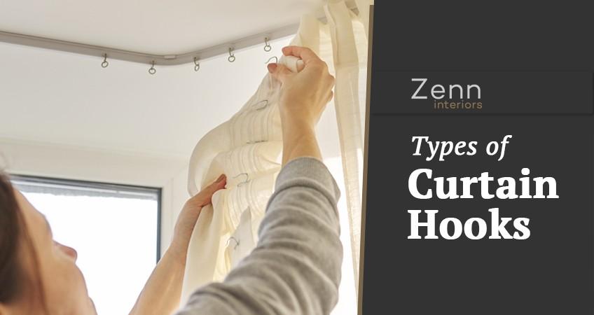 types of curtain hooks zenn interiors