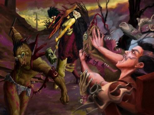 Студия имени Босха ACE Team рассказывает о сиквеле Zeno Clash и Rock of Ages