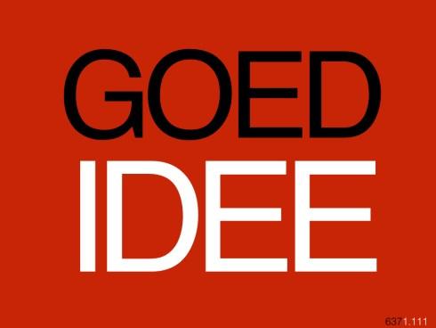 GOEDIDEE637.001