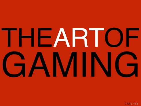 THEARTOFGAMING778.001