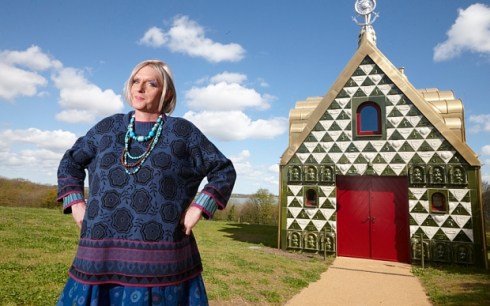 Grayson Perrys Dream House Channel 4 (wk21) handout ... Grayson Perry