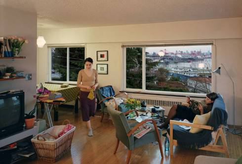 A View from an Apartment 2004-5 by Jeff Wall born 1946