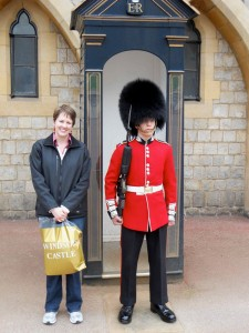 Me and guard