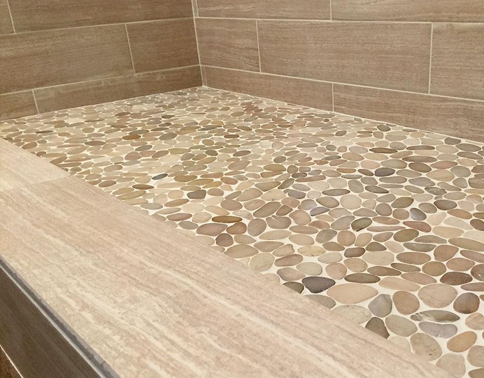 Zen Paradise Fine Pebble Stone Tiles