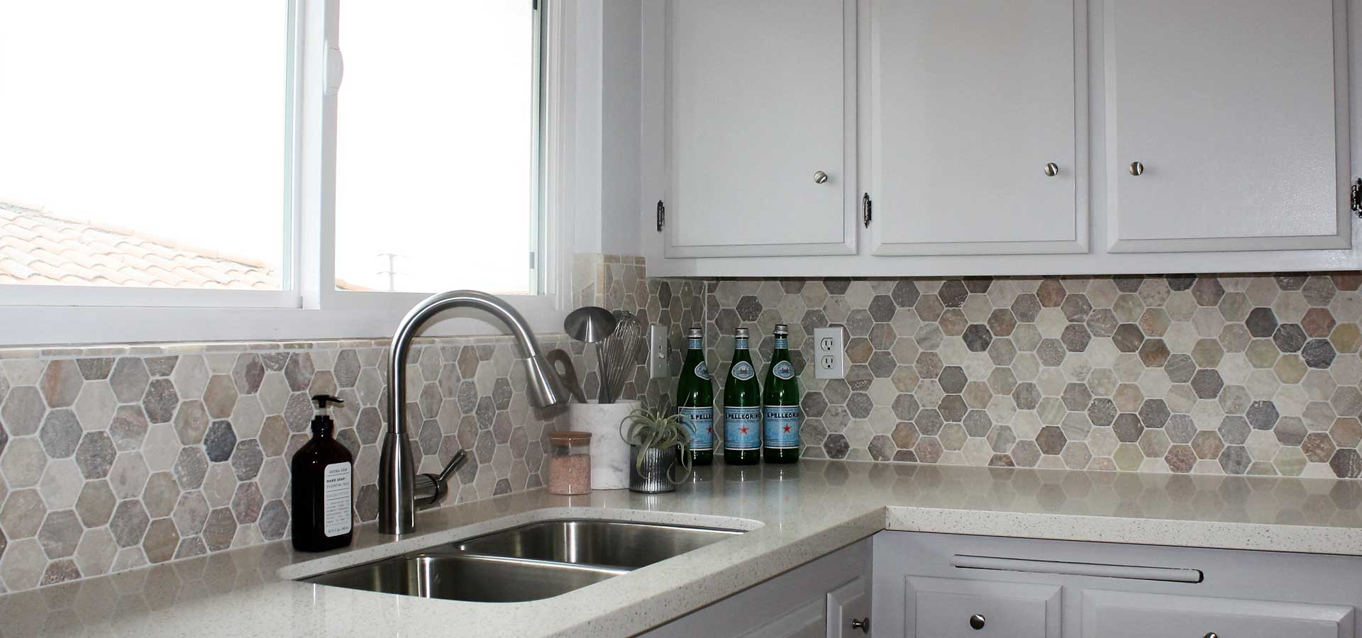 Zen Hexagon Tile -Kitchen
