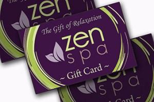 Zen Spa gift card
