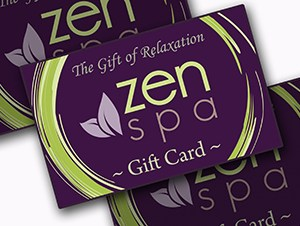 Zen Spa gift card