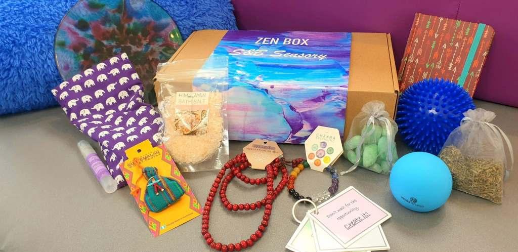 wellness box display