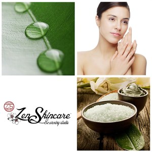 4 Layer Green Restoration Facial at Zen Skincare and Waxing Studio in Asheville, NC.