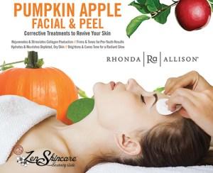 Pumpkin Parfait Vitality Facial Demi Peel Zen Skincare Waxing Studio Asheville NC