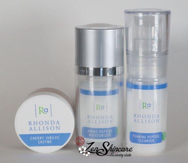 Rhonda Allison Firming Toning Facial Kit Zen Skincare Waxing Studio Asheville, NC