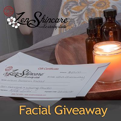 Historic Biltmore Village Association Facial Giveaway 2021 Zen Skincare Waxing Studio Asheville NC