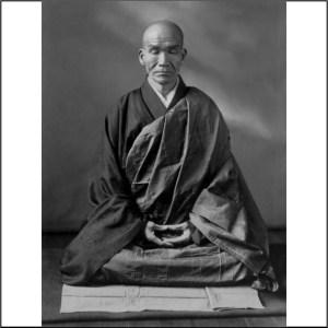 Kodo Sawaki Roshi in Zazen