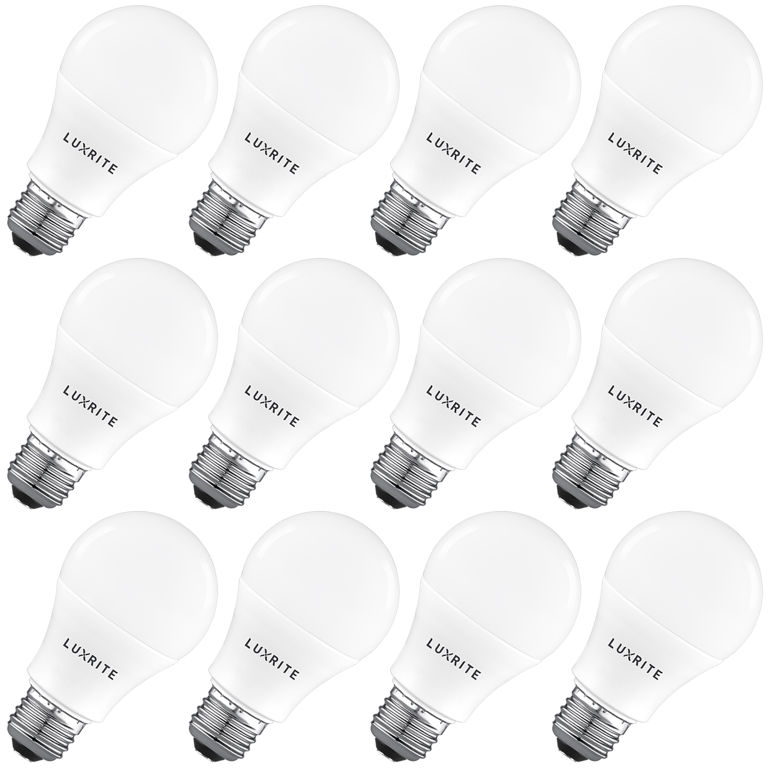 Luxrite A19 Led Light Bulb 100w Equivalent Non Dimmable
