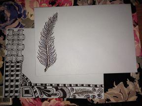 Zentangle-inspired art