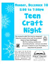 Teen Craft Night