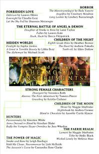 Mortal Instruments Book Map