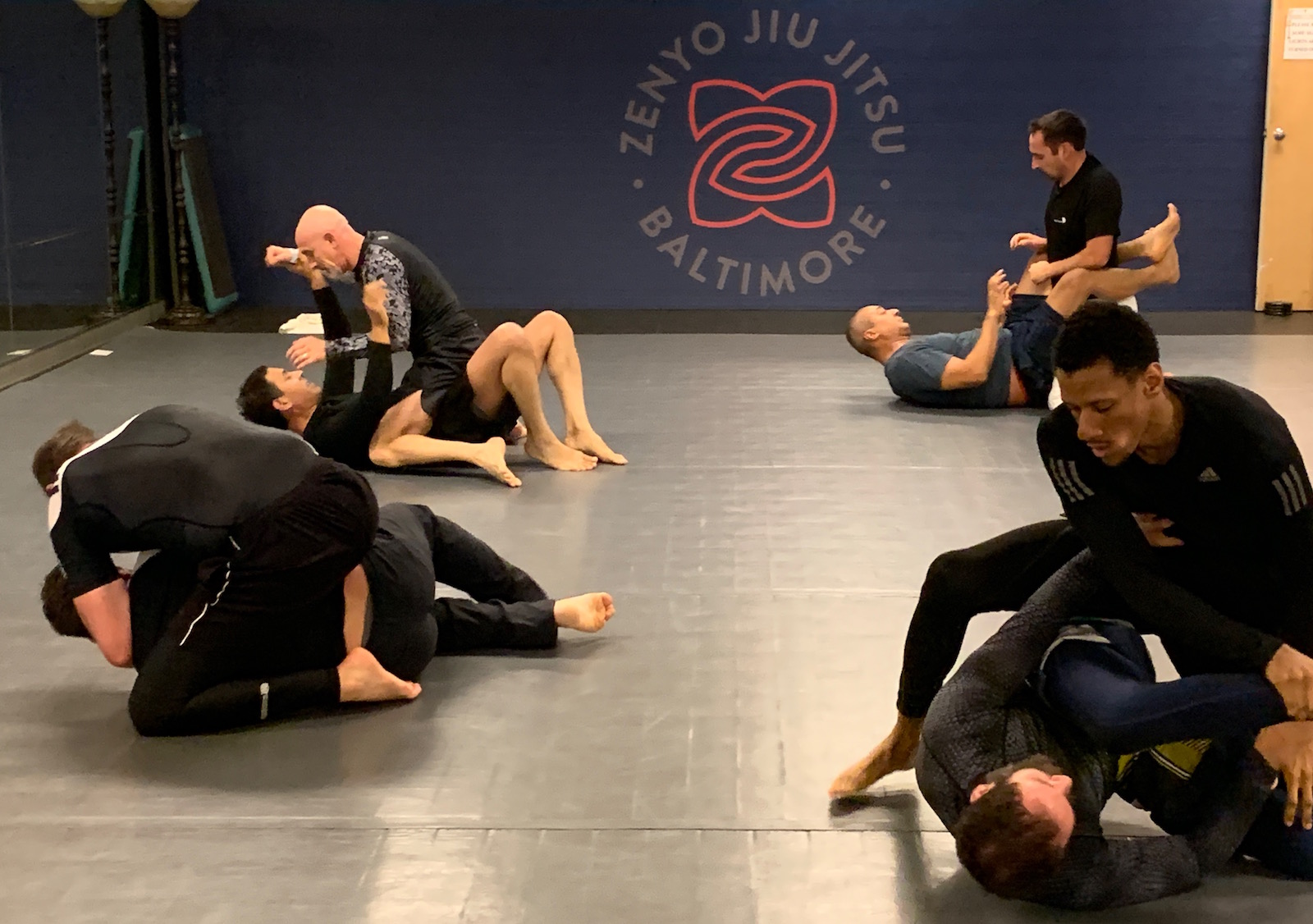 Zenyo No Gi Jiu Jitsu Training