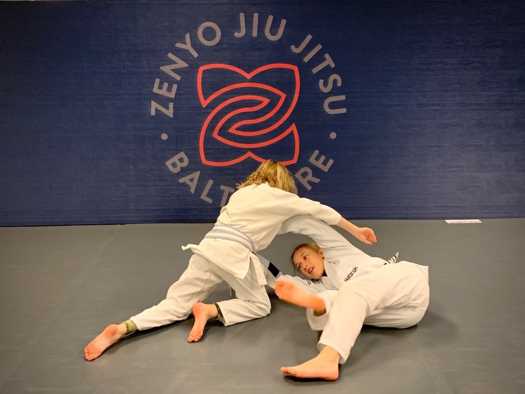 Kids Jiu Jitsu Class in Baltimore