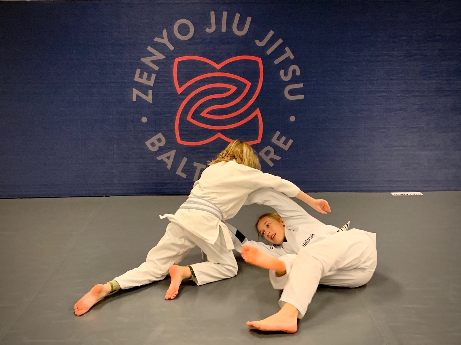 Zenyo Jiu Jitsu Training
