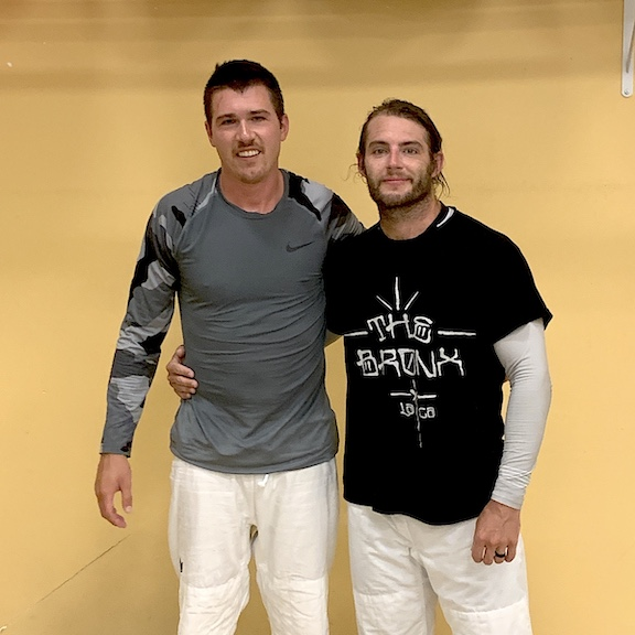Jiu Jitsu Training Partners