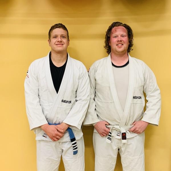 Brazilian Jiu Jitsu Partners