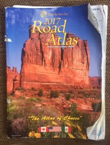 "Photo of 2017 Road Atlas: ""Road Trip 2016"""
