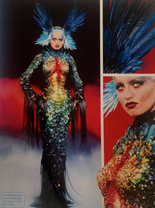 Thierry Mugler A/W 1997-1998 (Super Heroes, fashion and fantasy. MET)