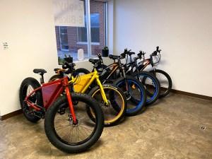 Fat Tire Mountain E-Bikes