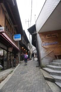 Street in Arima-onsen