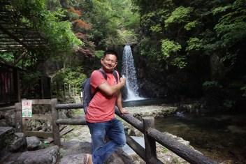 Me at Tsuzumigataki waterfall