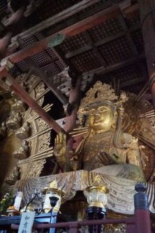Bodhisattva statue on the right of the Big Buddha